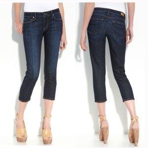 Paige Roxbury Crop Super Rebellious Jeans Size 32